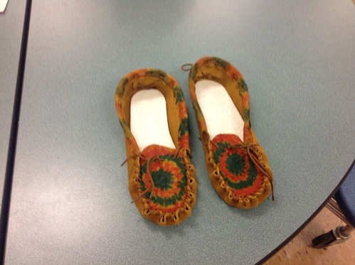 Decorated Moccasins