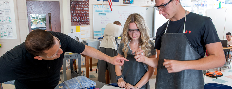 middle school girls with robotics
