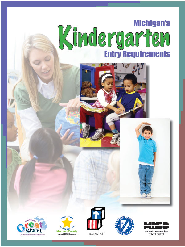 Kindergarten Entry Requirements Brochure