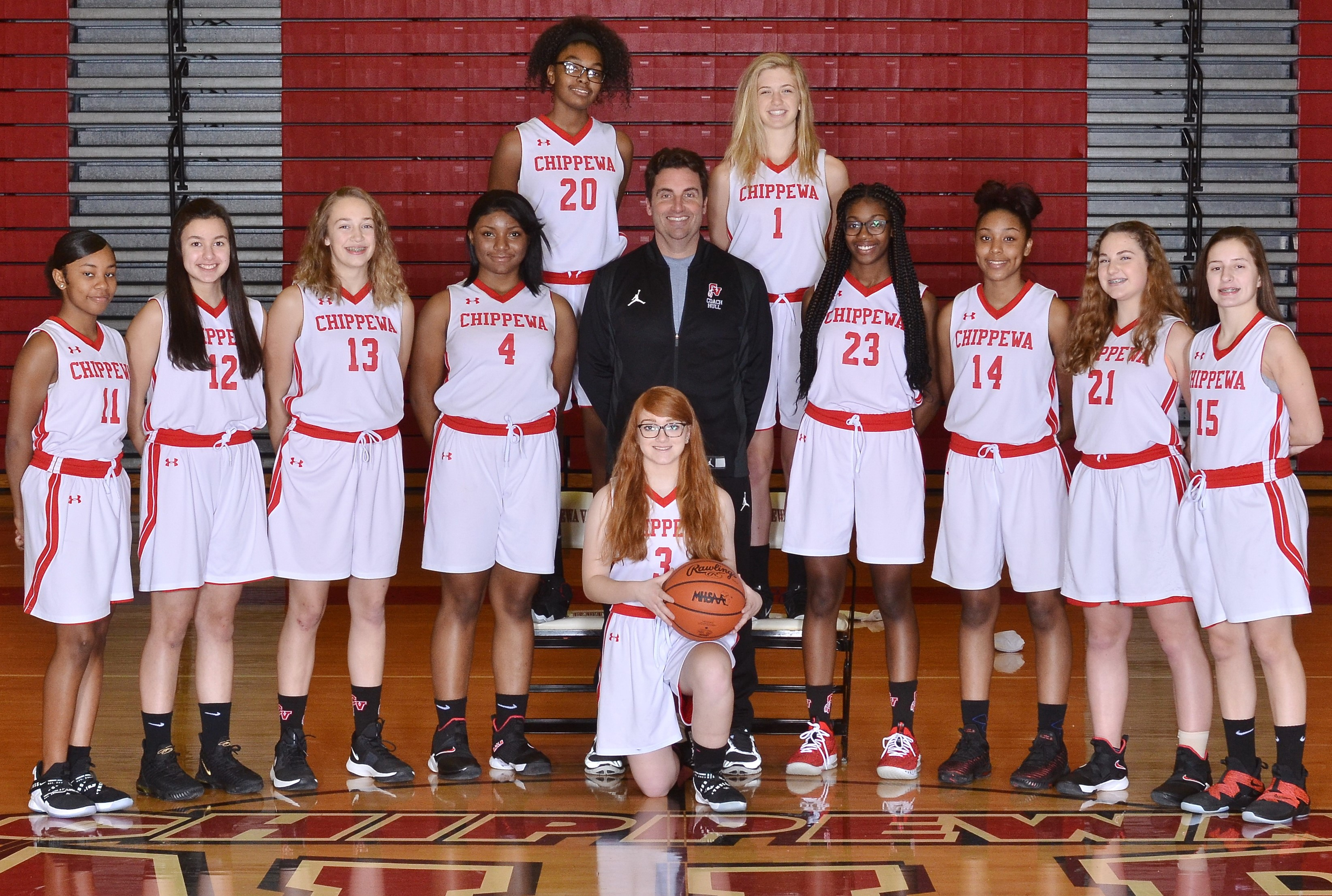 Freshman Girls Basketball Team Photo