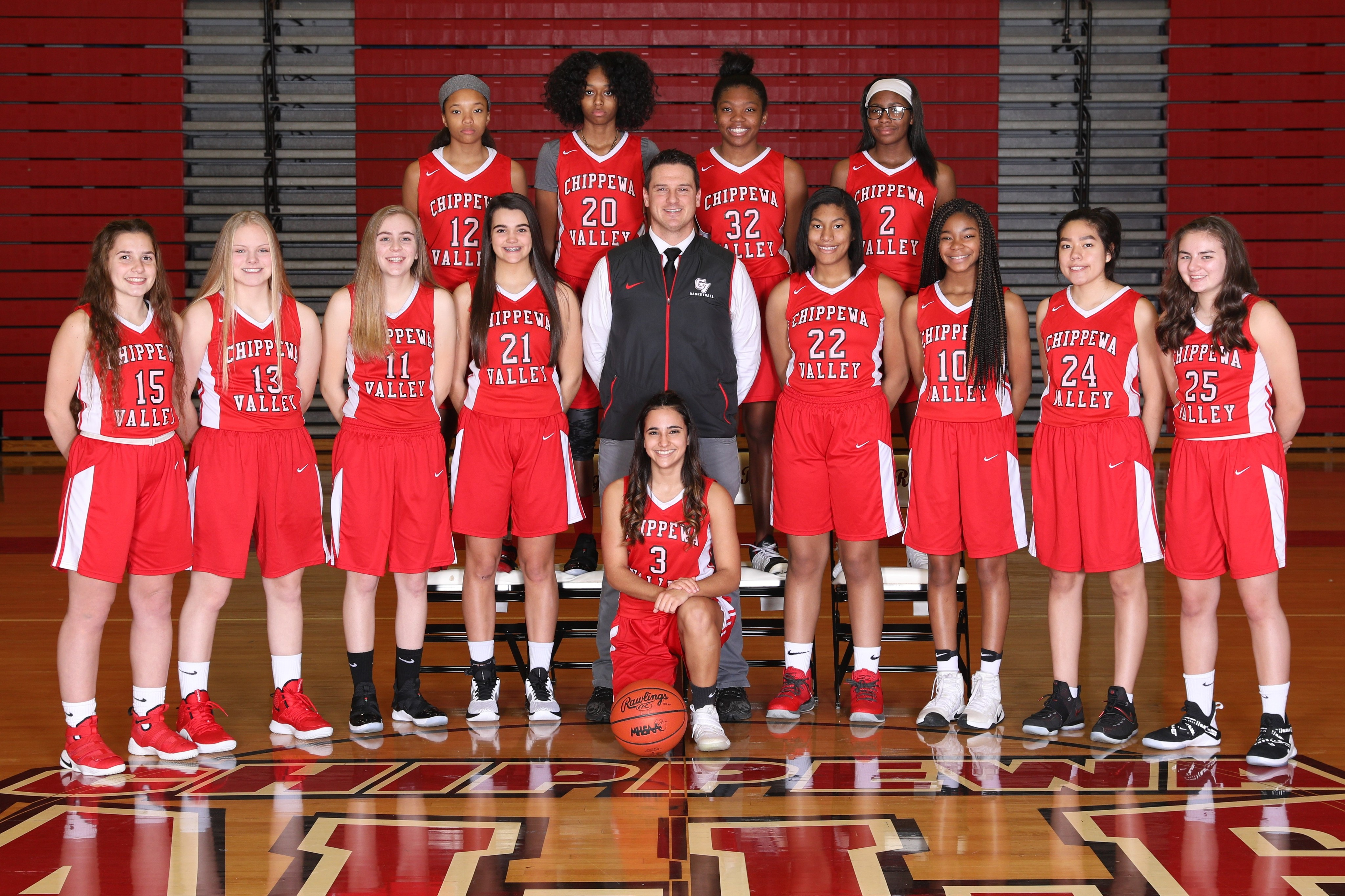 JV Girls Basketball Team Photo