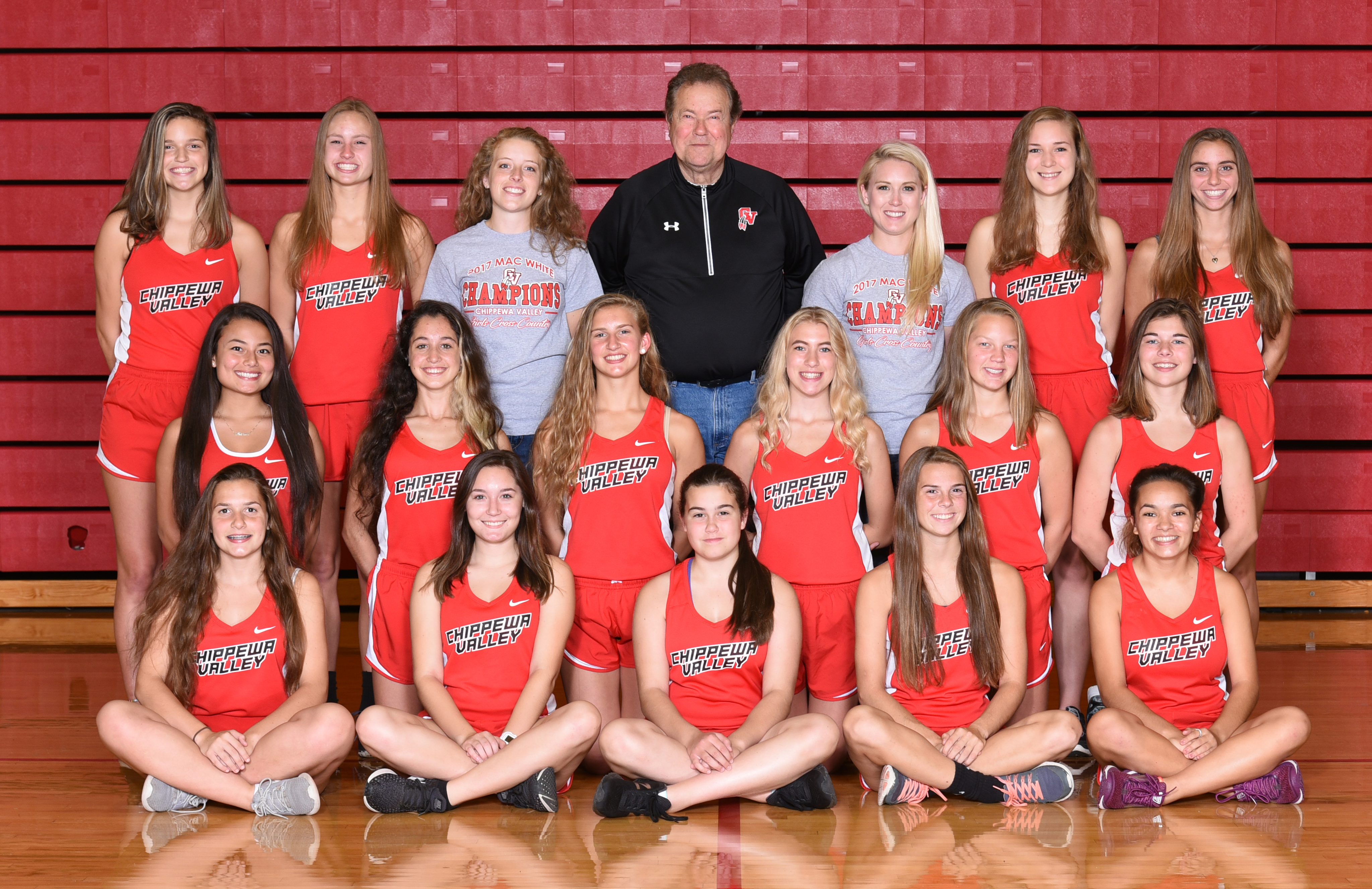 Girls Cross Country Team photo