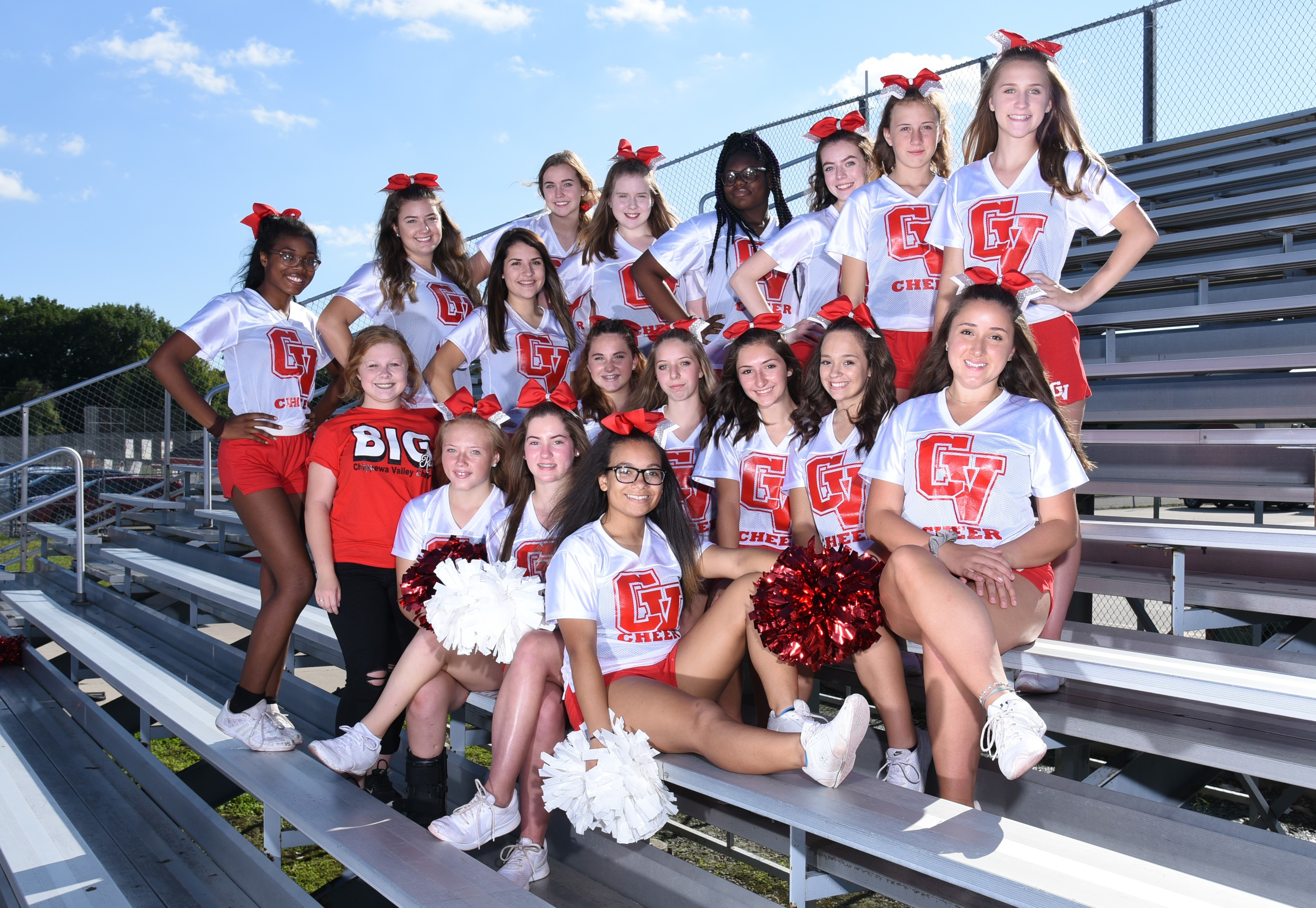 JV Sideline Cheer Team photo