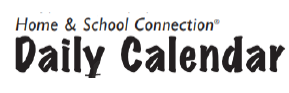 Home and School Connection Daily Calendar
